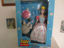 Poseable Bo Peep Doll with Sheep Disney Toy Story Very Rare Thinkway