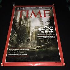Rare Call of Duty MW3  Double Sided Poster Time Magazine Cover Video Game 40x27