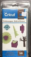 Cricut Tablescapes Fall Winter Cartridge And Keyboard Overlay All Machines NEW