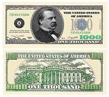Set of 100 Bills - $1,000.00 Casino Party Money by American Art Classics