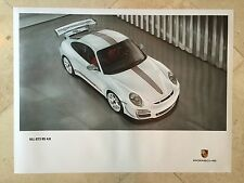 Porsche Factory Poster-2012 911 | 997 Carrera GT3 RS 4.0-Front Top Shot