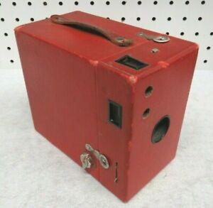 Kodak Rainbow Hawk Eye Red Box Camera No 2A Model B 1920s