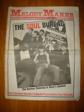 MELODY MAKER 1981 JAN 31 BUREAU PASSIONS THE WHO FURS