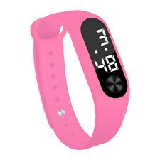 Fashion Men Women Digital LED Sports Watch Unisex Silicone Band Wrist Watches
