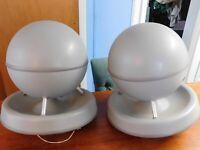 """Vintage Pair Soundsphere Model 168 Speakers 55 W 8 Ohms 16"""" Diameter - Pickup CT"""