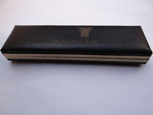 Waltham Watch Box  Vintage 1960's