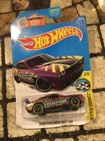 2016 Hot Wheels Speed Graphics Dodge Challenger Drift Car NIP Purple