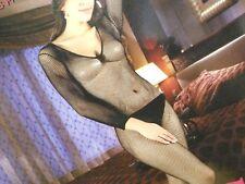 Catsuit Bodystocking Hot Intimo Cavallo Aperto Sexy Lingerie Donna Travestimento
