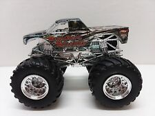 Hot Wheels Monster Jam truck Mechanical mischief x-ray 1:64 scale Plastic base