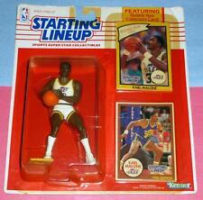 1990 Karl Malone Utah Jazz #32 Starting Lineup plus 1985 bonus card - Free s/h -