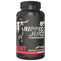 Betancourt RIPPED JUICE EX2 Fat Burner Weight Loss Mood & Energy 60 Capsules