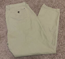 Tommy Hilfiger Tailored Fit Light Brown Khaki 10107949 Men's 36x30 Chino Pants