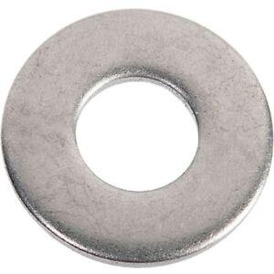 Rondelle plate Acier Zingué  - VISWOOD - Vendu Par 20 - Voir tableau Diamètre