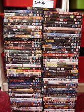job lot bundle over 80 films, no duplicates DVDs. [lot 4]