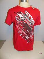 Ecko Unltd Mens Red Rhino Logo Graphic Tee T-Shirt Size L Short Sleeve NWT