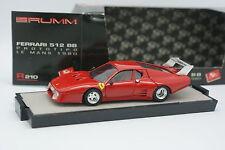 Brumm 1/43 - Ferrari 512 BB Le Mans 1980 Prototipo