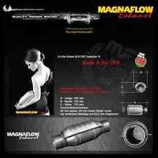 MF Magnaflow ACCIAIO INOX CATALIZZATORE 200 CELLE 63,5mm/2.5Zoll OPEL VECTRA B