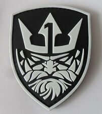 Medal of Honor : MOH Neptune LOGO PVC 3D Rubber   Patch Glow in the dark