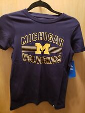 NWT 47 Brand NCAA Kid's Michigan Wolverines Tshirt