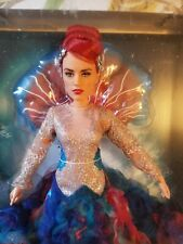 Barbie Aquaman Mera royal gown doll Nrfb red hair Dc Comics updo