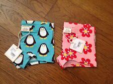 Maxomorra Girls Briefs Boxers  x 2- Penguin & Anemone - size 86/92cms