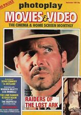 PHOTOPLAY MOVIES & VIDEO - SEPTEMBER 1981 (RAIDERS OF THE LOST ARK)