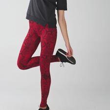 Lululemon Wunder Under Hi-Rise Tight Pants 8 Solid Black Full-On Luon W5BEHS