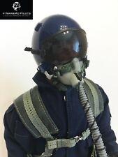 1/4.5 ~ 1/4 Scale Modern Jet Pilot Figure w/ Servo Operated Head