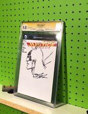 DC Comics CGC SS 9.8 Justice League 1 Signed & Sketched Neal Adams Batman