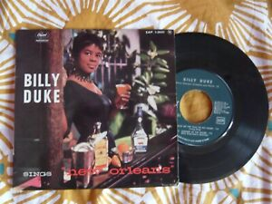 French EP Billy Duke Sings New Orleans CAPITOL 1- 20431