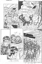 AMAZING SPIDER-MAN # 8 PG. 21 by JOHN BYRNE! SIGNED! INCREDIBLE DETAIL!!!
