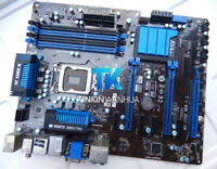 FOR MSI MS-7752 Z77A-G45 Motherboard skt 1155 DDR3 Intel Z77 TEST OK