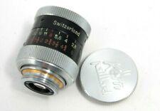 Kern Paillard Yvar 13mm f1.9 Cine Lens,  D Mount, excellent, with front cap