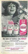 L- Publicité Advertising 1964 Lait sec écrémé Régilait