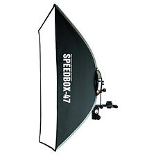 "SMDV Soft-box Rectangular Diffuser 47 16x29"" for Speed-light lite Quantum Flash"