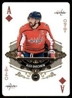 2020-21 UD O-Pee-Chee Playing Cards Aces #A-DIAMONDS Alex Ovechkin