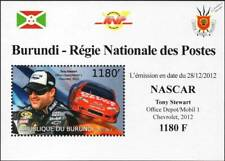 Tony Stewart & #14 CHEVROLET IMPALA Chevy NASCAR Race/Racing Car Stamp Sheet #2