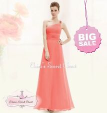 Polyester One Shoulder Formal Ballgowns for Women