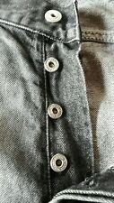 SMOG Jeans Hose Größe 31 schwarz geknöpft
