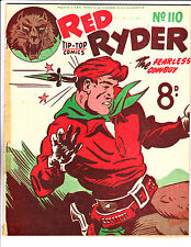 "Red Ryder No 110 1950's -Australian-""Knife But To The Head Cover ! """