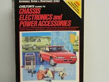 CHILTONS Guide To CHASSIS ELECTRONICS & POWER ACCESSORIES 1988 US, CDN & Import}