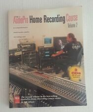 The AudioPro Home Recording Course Vol. II (1998, Paperback) CDs are MISSING