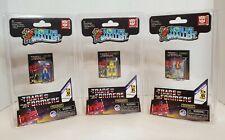 World's Smallest TRANSFORMERS Optimus Prime, Bumble Bee, Starscream (Set of 3)