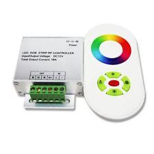 CONTROLLER DIMMER RGB TELECOMANDO TOUCH RF 12-24V 18A PER STRISCIA LED 5050 RGB