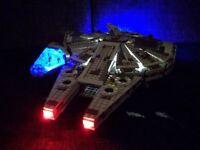 Led Light Kit For Lego 75105 Millennium Falcon Star Wars Lighting Bricks Gift