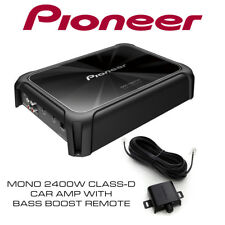 Pioneer GM-D9701 - Mono 2400W Class-D Car Amp with Bass Boost Remote