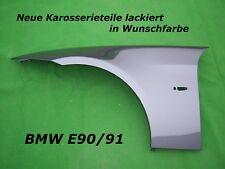 BMW E90/E91 KOTFLÜGEL LINKS/RECHTS NEU LACKIERT IN WUNSCHFARBE 05-11