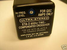XTA-2 800 hz Active Crossover