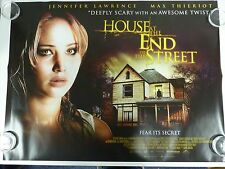 House at the End of the Street Horror Original Film / Movie Poster Quad 76x102cm