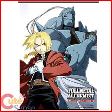 Fullmetal Alchemist Brotherwood Wall Scroll Edward Elric Alphonse Poster by Ge